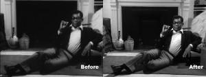 Comparison of previous version and 2012 Milestone restoration (courtesy Milestone Film & Video).