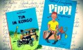 "Ishema Kane's letter and German versions of controversial ""Tintin in the Congo"" and ""Pippi Longstocking"" - (Facebook / Casterman / Oetinger)"